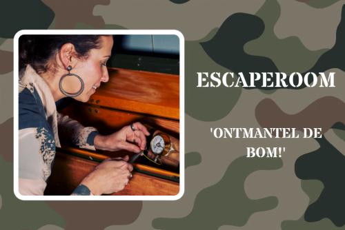 Escaperoom Ontmantel de Bom voor personen vanaf 14 jaar