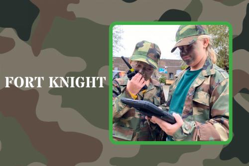 Fort Knight: interactieve speurtocht voor kinderen – Fort Markenbinnen