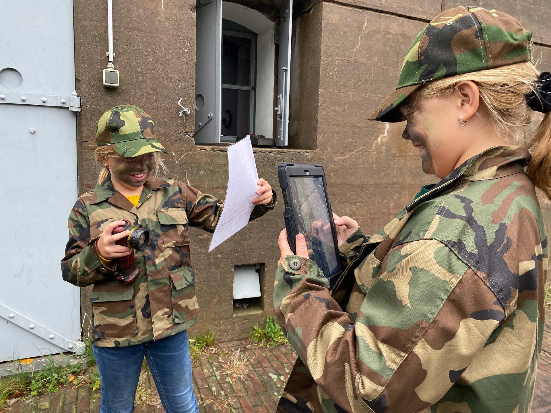 Fort Knight interactieve speurtocht voor kinderen in Noord-Holland