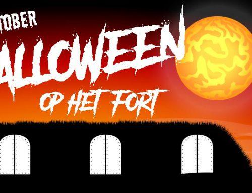 Halloween bij FORTtreffelijk; griezelen t/m 13 jaar of vanaf 13+