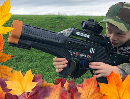 Lasergamen in de herfstvakantie: leuk, actief uitje voor kinderen