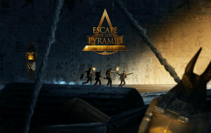 Assassin's Creed Origins Escape The Lost Pyramid art