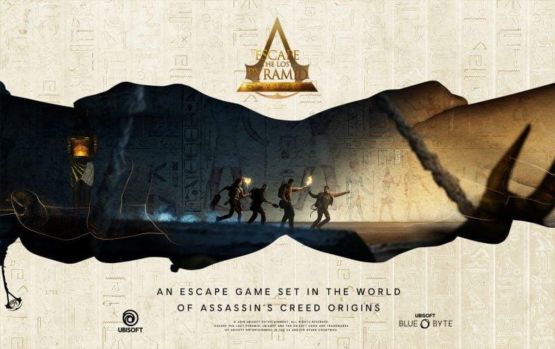 Escape the lost pyramid promo art