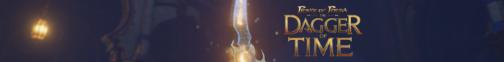 Prince of Persia Dagger of Time Dagger banner