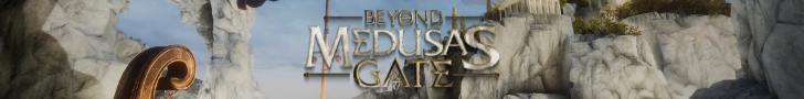 Beyond Medusa's gate banner