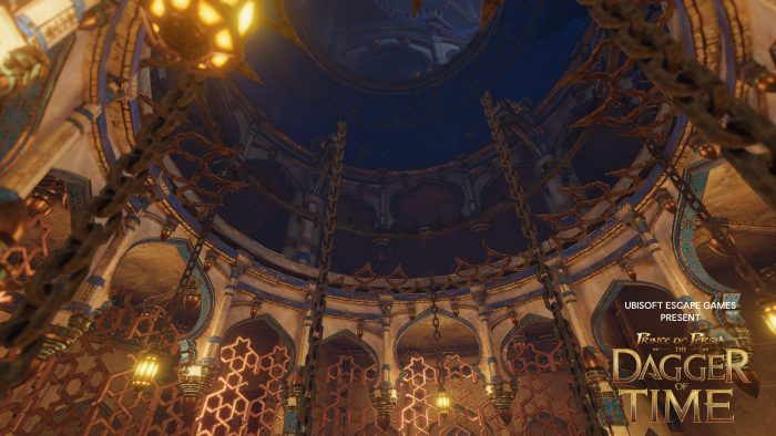 Prince of Persia Dagger of Time Gameplay shot Central Hall