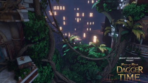 Prince of Persia Dagger of Time Gameplay shot Garden Tower