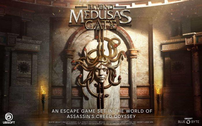 Beyond Medusa's Gate VR game promo art