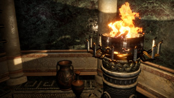 Gameplay screenshot beyond medusa's gate