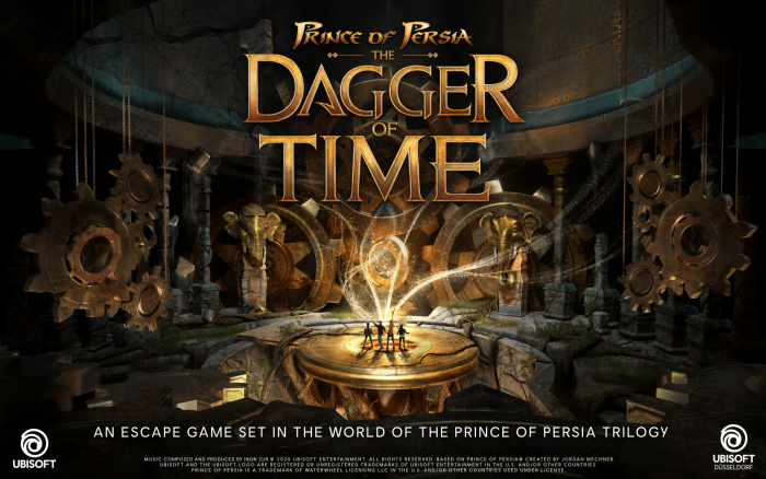 Prince of Persia Dagger of Time VR Cover promo